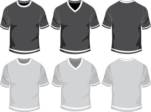 Blank male t-shirt