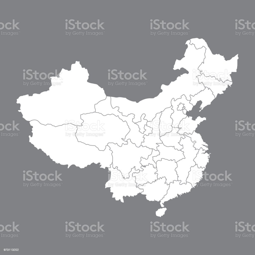 Blank map china map of china with the provinces high quality map of blank map china map of china with the provinces high quality map of china gumiabroncs Image collections