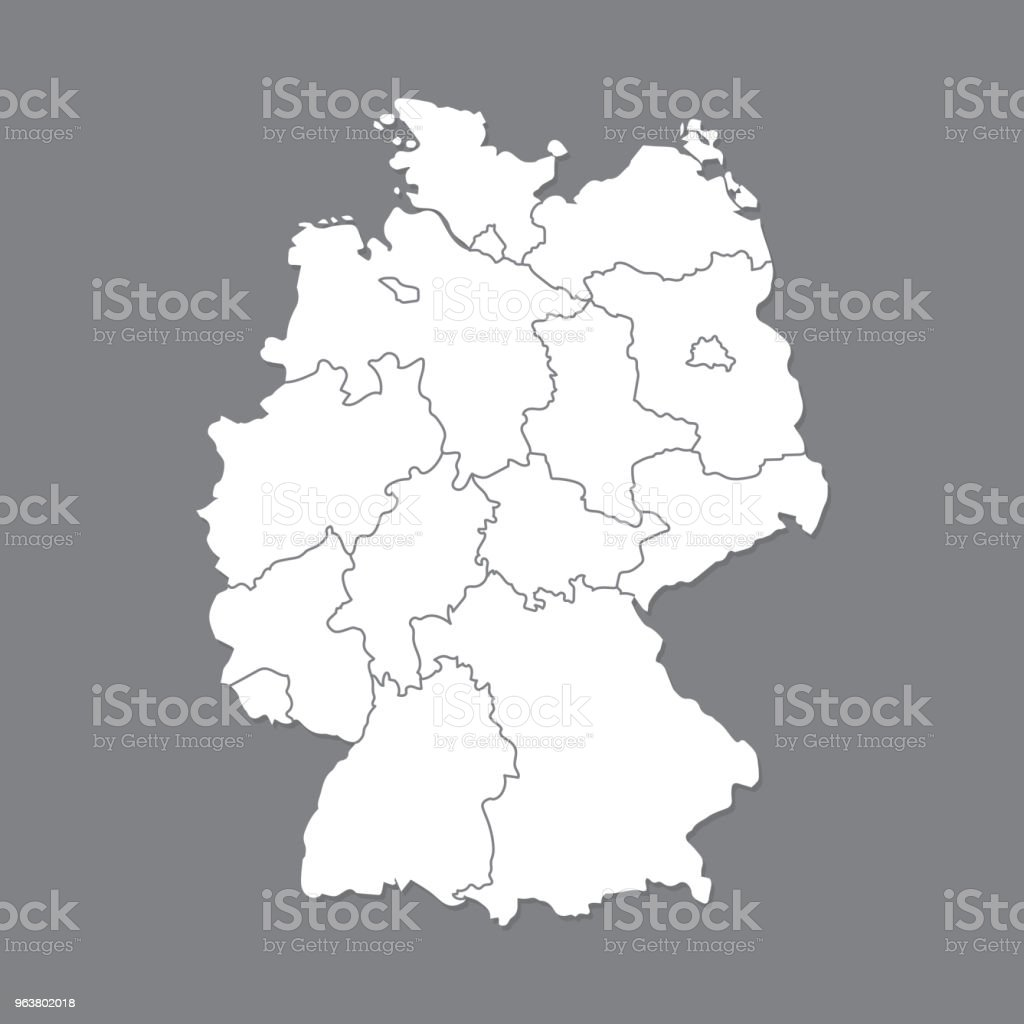 Map Of Germany Showing Munich.Blank Map Germany High Quality Map Of Germany With Borders Of The