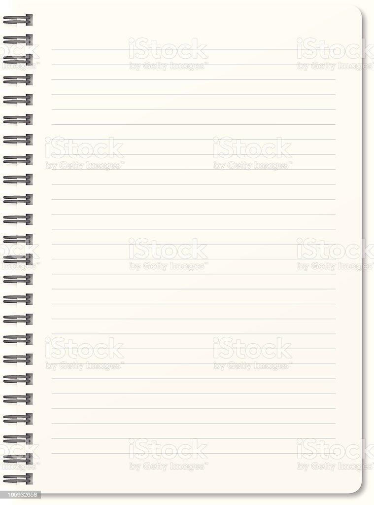 blank notepad stock vector art amp more images of clip art