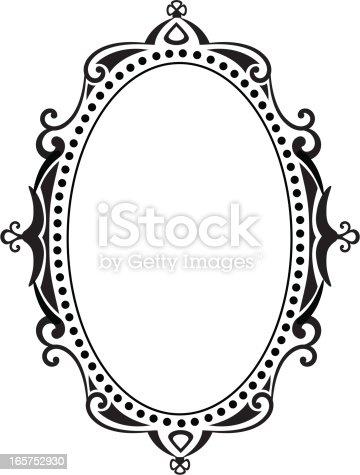 Blank Ornate Frame Stock Vector Art 165752930 Istock