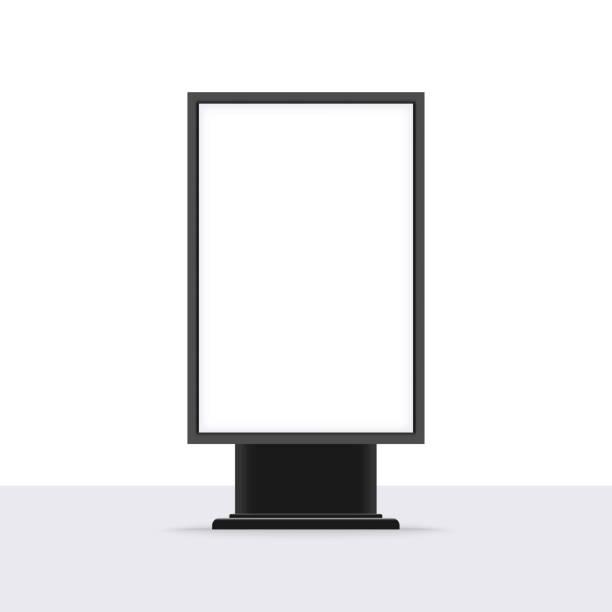 leere im freien lightbox vorlage - plakat stock-grafiken, -clipart, -cartoons und -symbole
