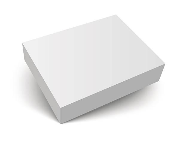 空白シャドーボックスに梱包 - box点のイラスト素材/クリップアート素材/マンガ素材/アイコン素材
