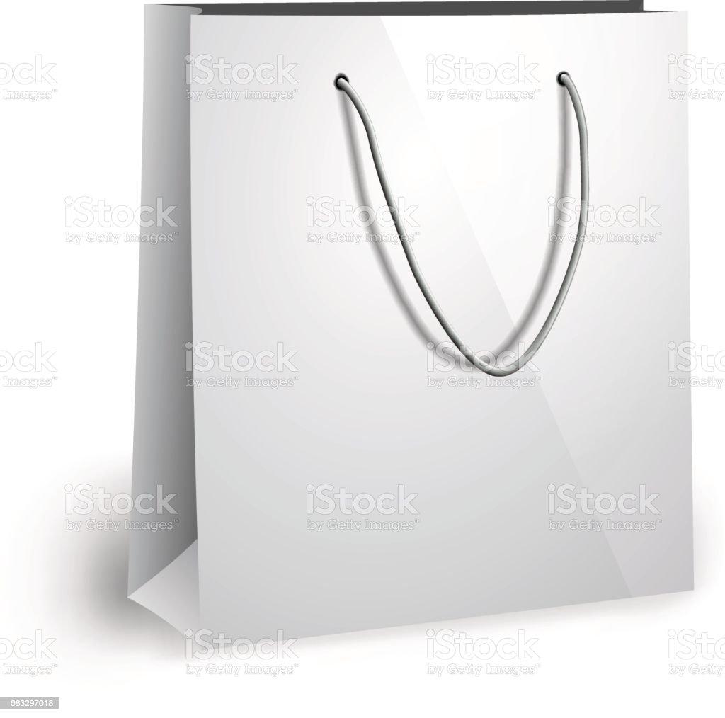 Blank Paper Bag Template Royalty Free Stock Vector Art Amp