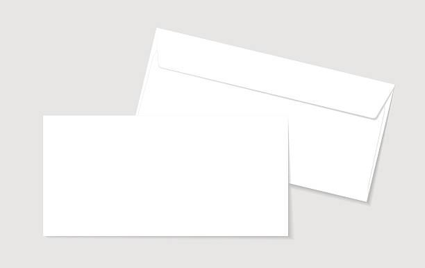 Blank paper envelopes for your design – Vektorgrafik