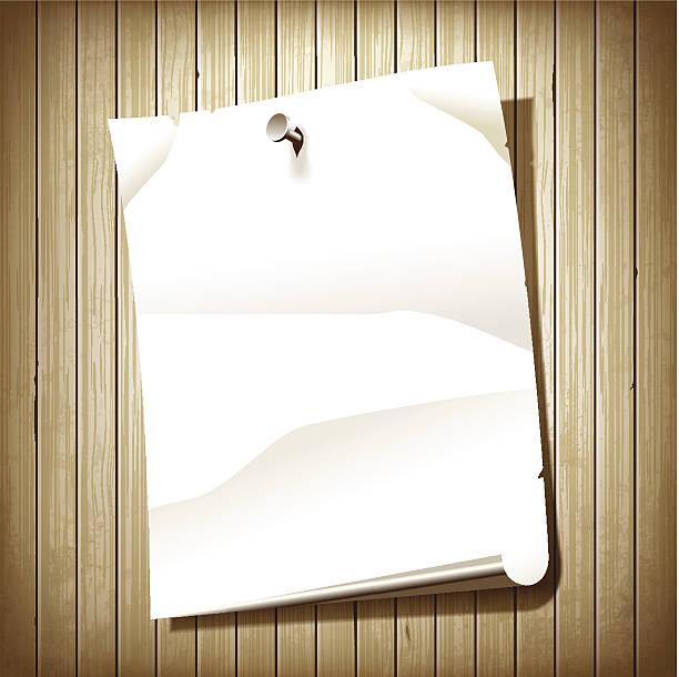 leere papier seite - nagelplatte stock-grafiken, -clipart, -cartoons und -symbole