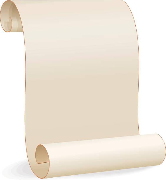 blank paper scroll - 紙捲軸 幅插畫檔、美工圖案、卡通及圖標