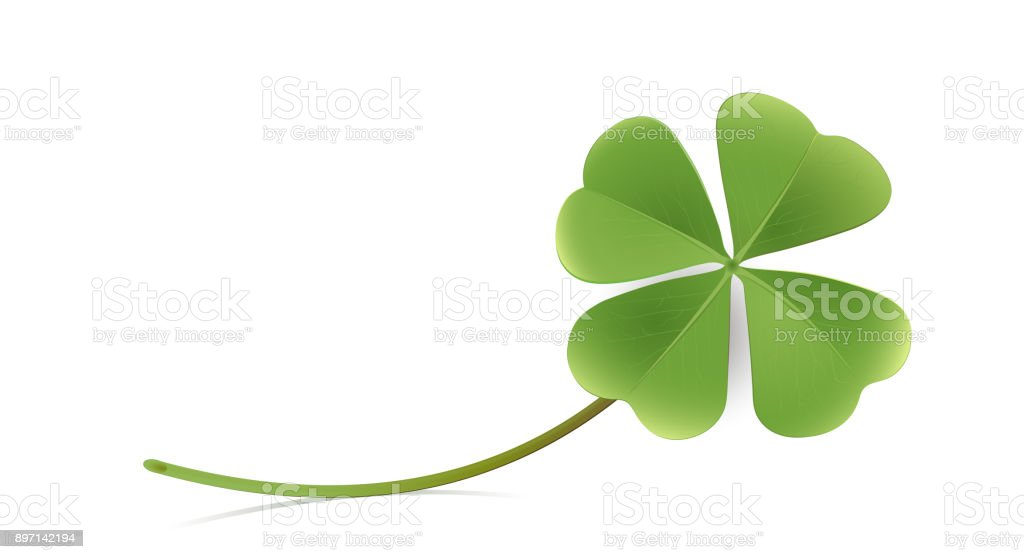 blank paper sheet with shamrock greeting card new years card new year