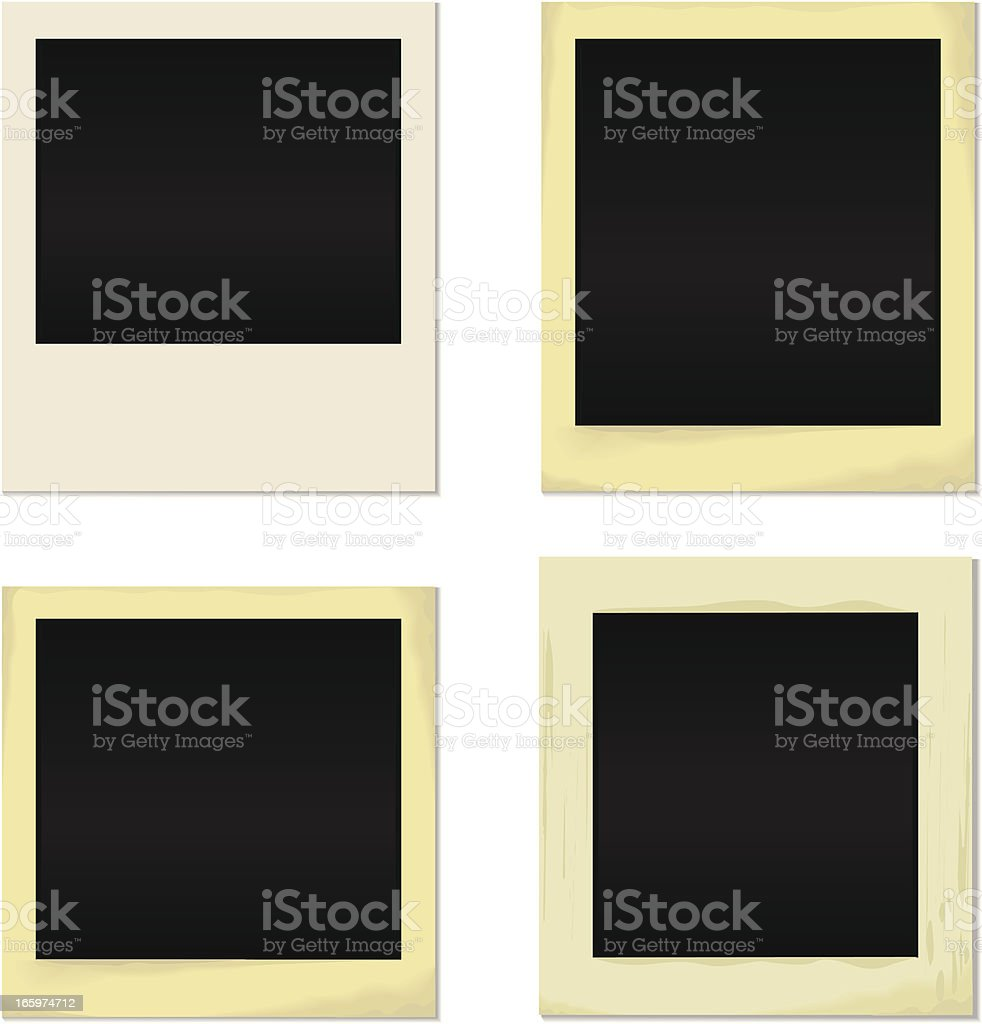 blank photo royalty-free blank photo stock vector art & more images of black and white