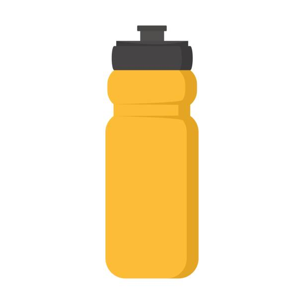illustrations, cliparts, dessins animés et icônes de bouteille en plastique vide pour illustration vectorielle de l'eau - bouteille d'eau