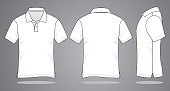 Blank Polo Shirt for Template
