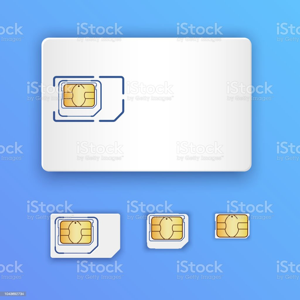 Memory Chips In A Cell Phone Board Royalty Free Stock Photo Image Blank Realistic Sim Card Set Of Cards Full Size Mini Micro And