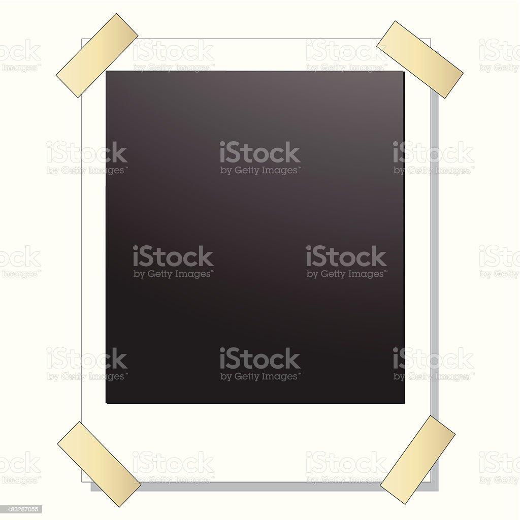 Leere Retro Polaroidfotorahmen Stock Vektor Art und mehr Bilder von ...