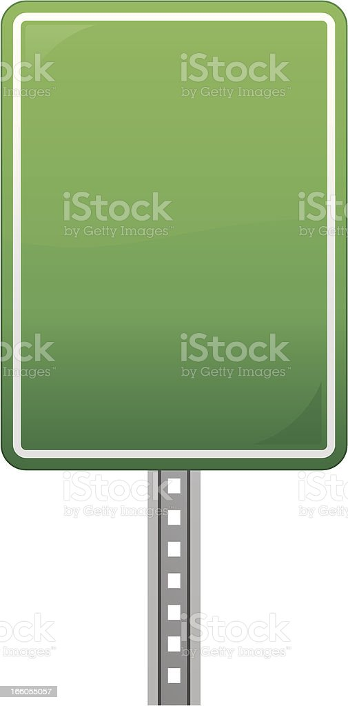 Blank Road Sign royalty-free blank road sign stock vector art & more images of copy space