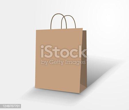istock blank shopping bag 1249707701