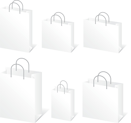 Blank Shopping Bags