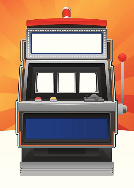Blank machine à sous - Illustration vectorielle