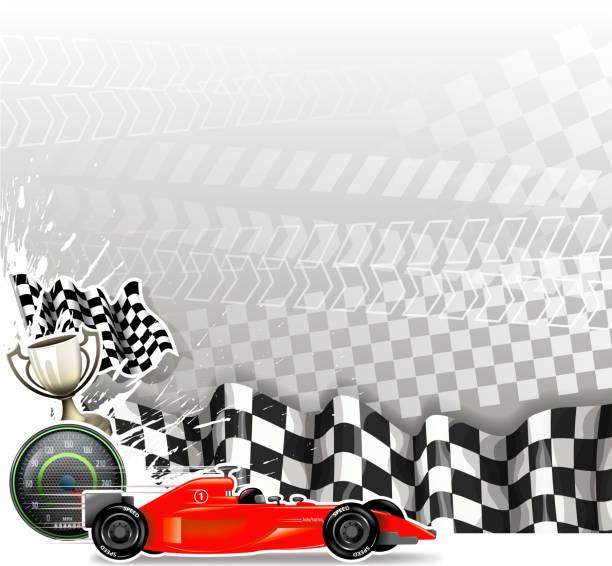 blank speed sign - formula 1 stock illustrations