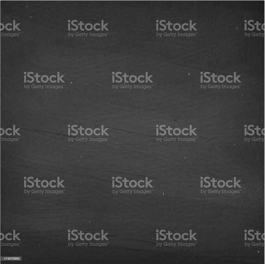 blank square chalkboard royalty free vector background in black
