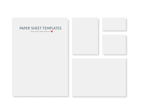 Blank Stationery And Corporate Identity Template Consist Of Realistic Vecto 0명에 대한 스톡 벡터 아트 및 기타 이미지