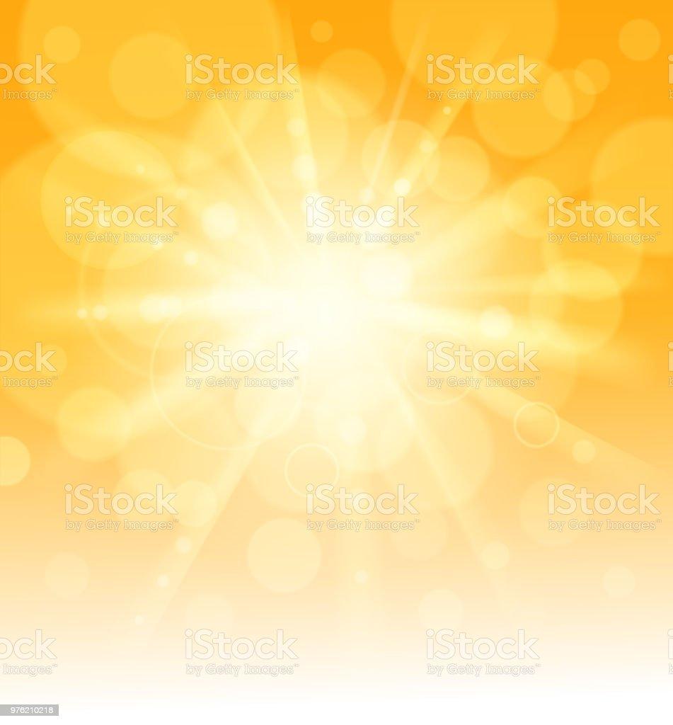 leere Sonnenlicht – Vektorgrafik