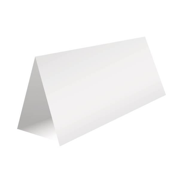 leere tabelle papierschablone karte. vektor-illustration. - tischkalender stock-grafiken, -clipart, -cartoons und -symbole