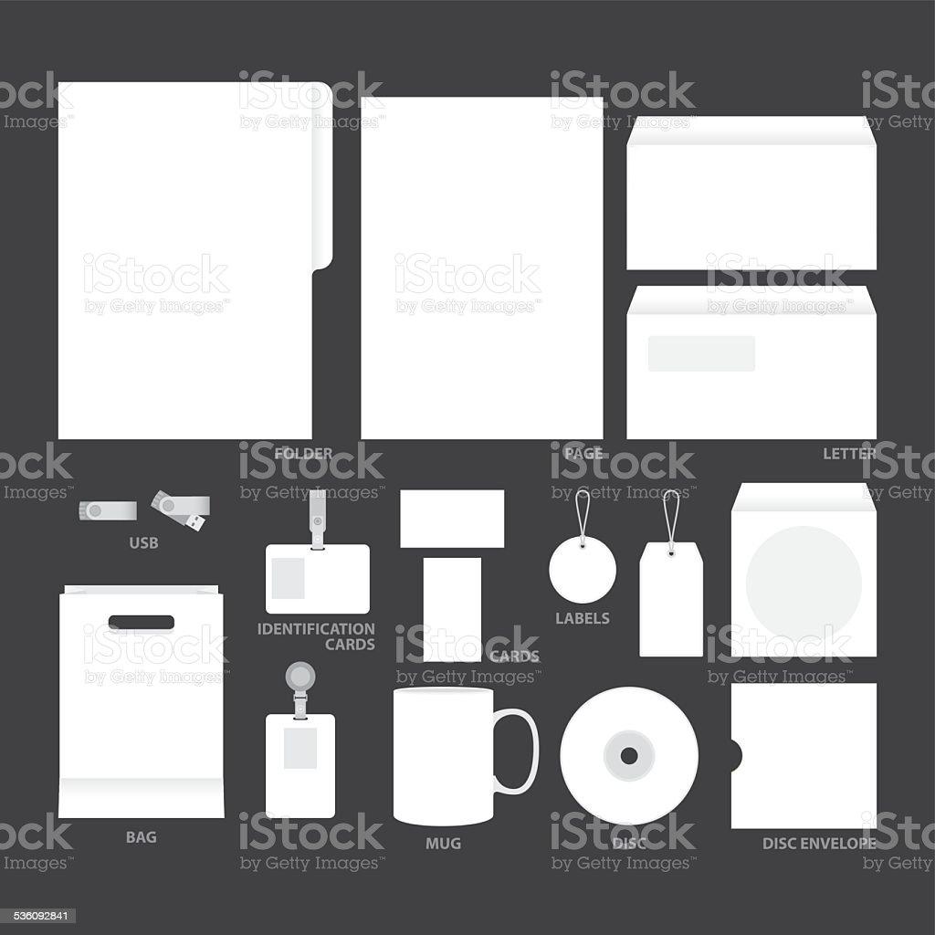 Leerevorlagen Stock Vektor Art und mehr Bilder von Akte 536092841 ...