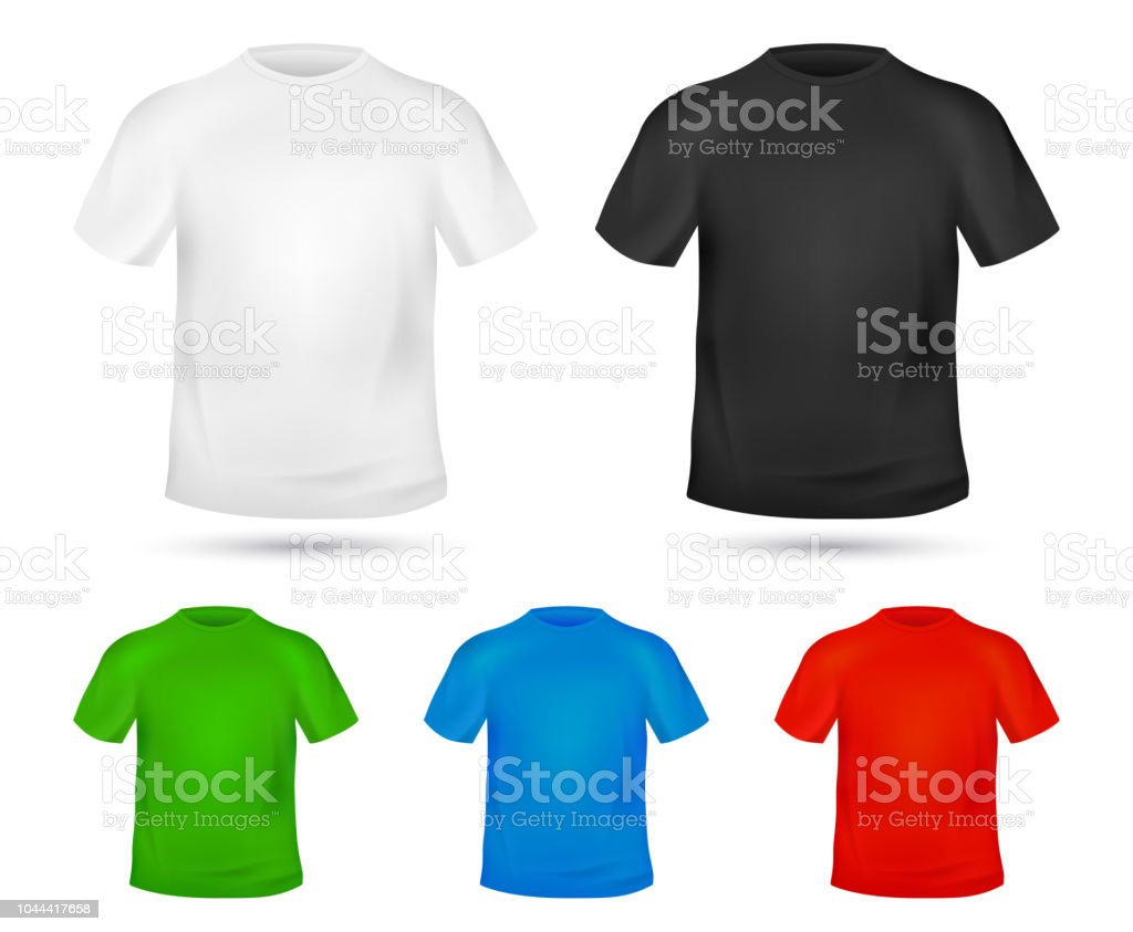 Blank Tshirt Template Change Colors Mockup T Shirt Printing Design
