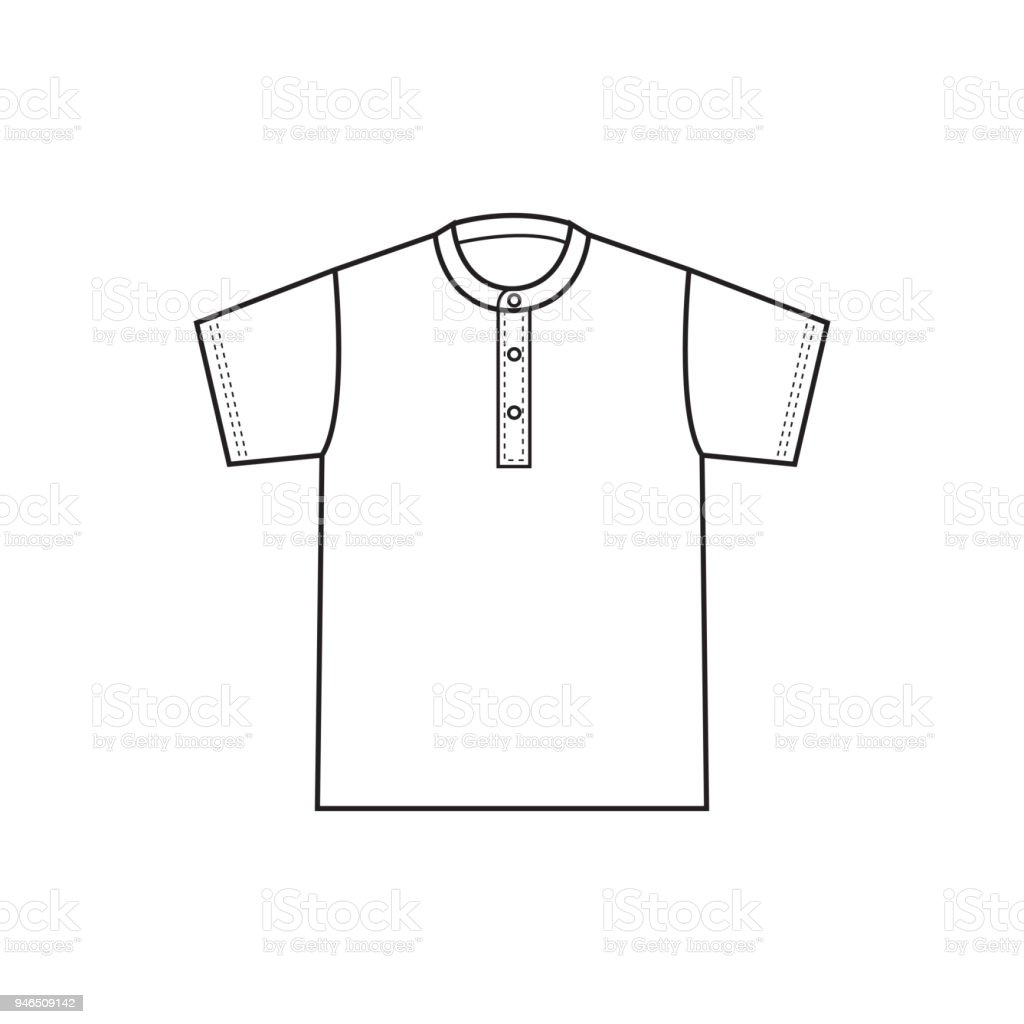 Blank T Shirt Template Vector Royalty Free Tshirt Stock Art