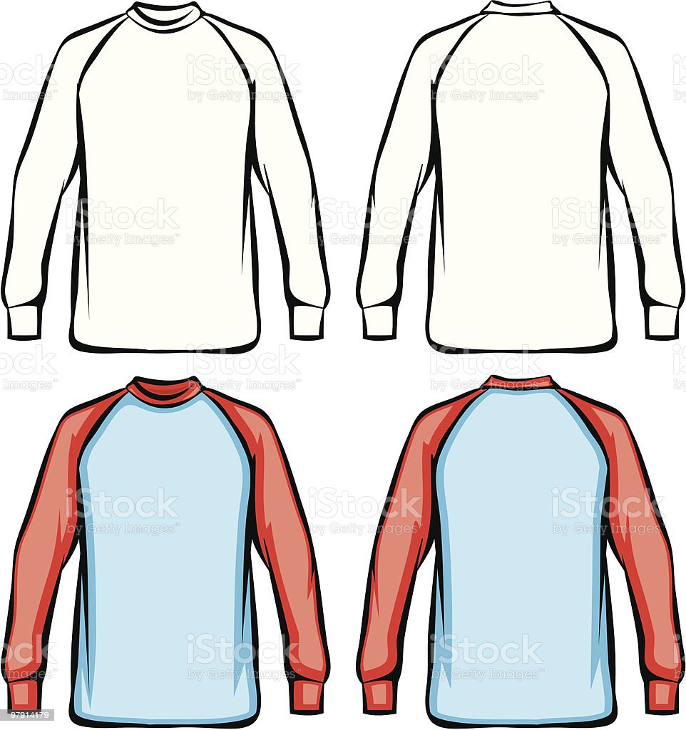 Blank T-shirts illustration royalty-free blank tshirts illustration stock vector art & more images of blank