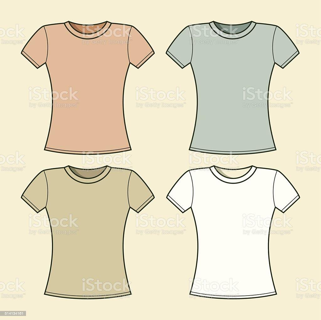 ブランク tシャツテンプレート tシャツのベクターアート素材や画像を