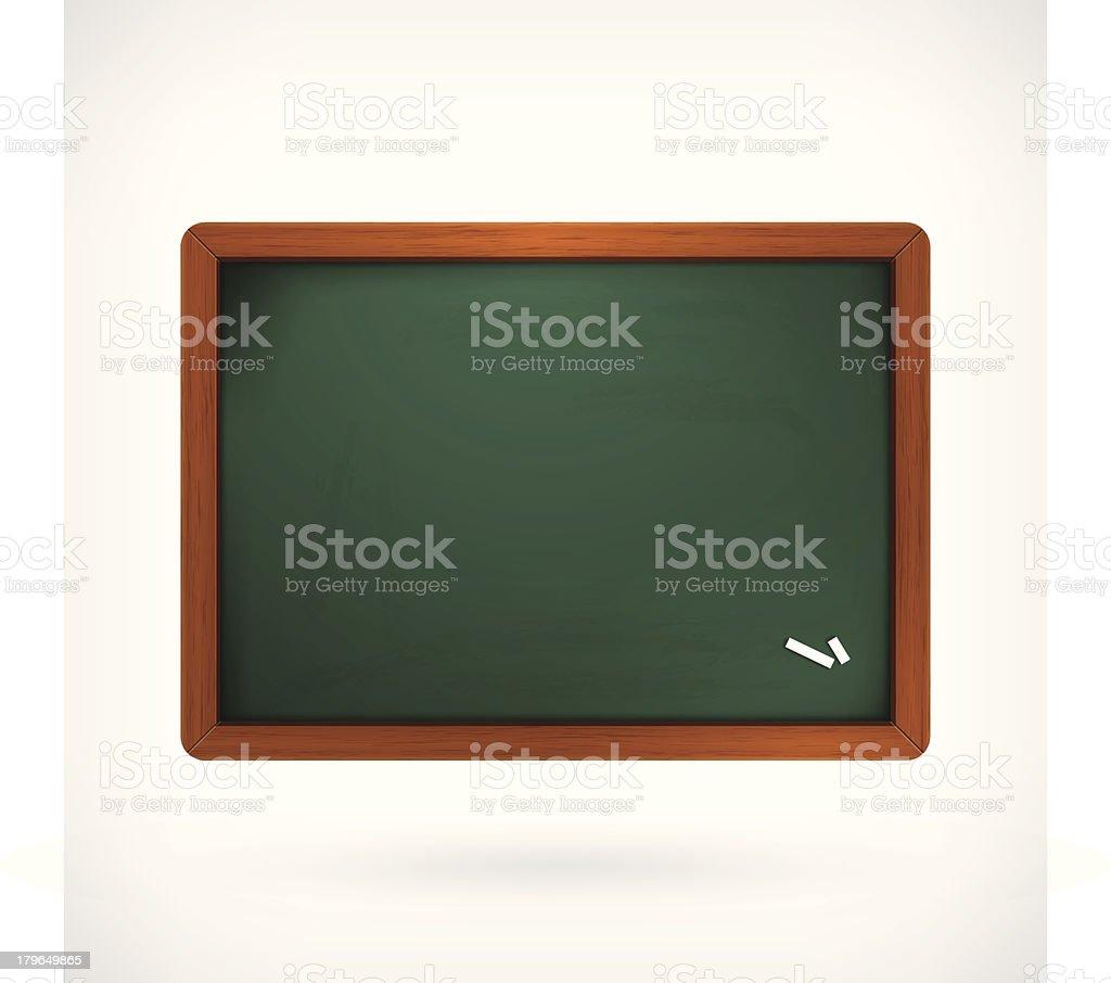 blank vector blackboard royalty-free stock vector art