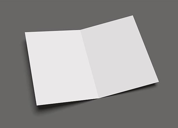 Royalty free blank greeting card clip art vector images blank vector two leaf greeting card or brochure on gray vector art illustration m4hsunfo
