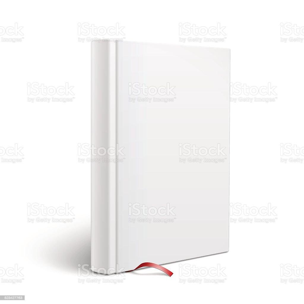 Leere Vertikale Buch Mit Lesezeichen Vorlage Stock Vektor Art und ...