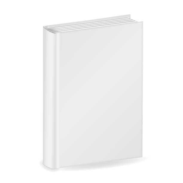Blank vertical cover of the book. Isolated on white background. 3D Mockup to display your design. Vector illustration Blank vertical cover of the book. Isolated on white background. 3D Mockup to display your design. Vector illustration e reader stock illustrations
