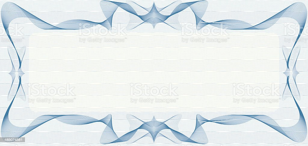 Blank Voucher | Blank Voucher Stock Vector Art More Images Of Abstract 485074581