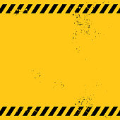 blank warning banner
