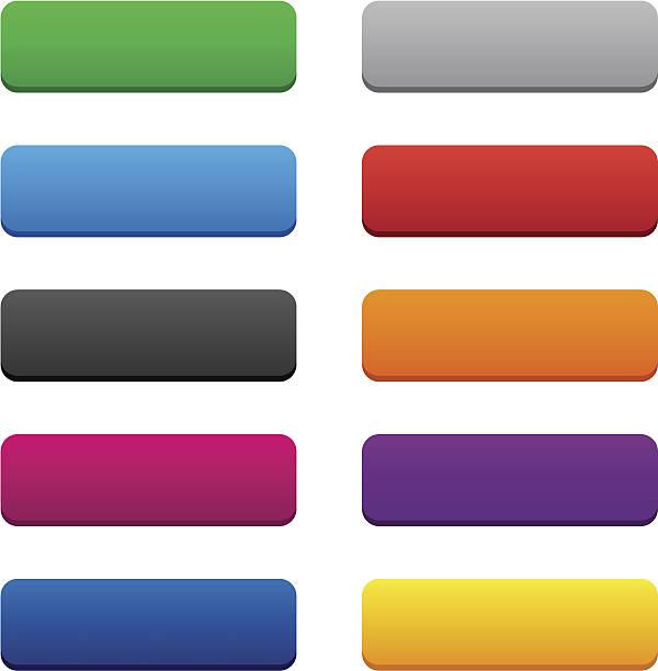 blank web buttons - 長方形 幅插畫檔、美工圖案、卡通及圖標