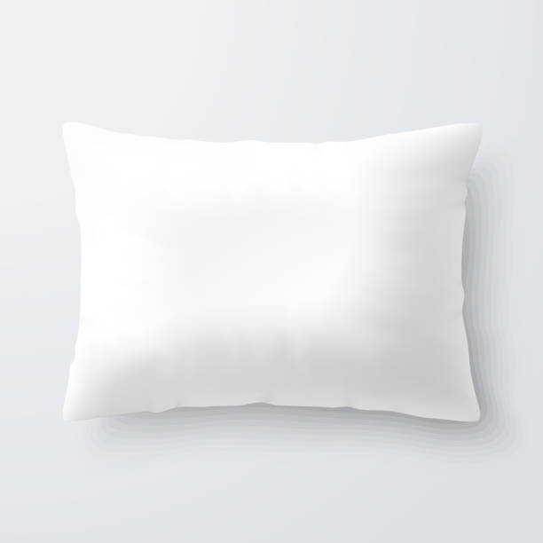 Royalty Free White Pillow Clip Art, Vector Images & Illustrations - iStock