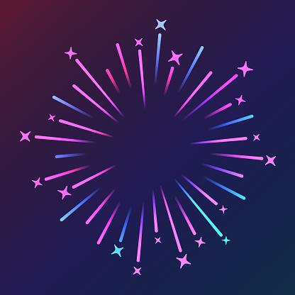 Blast Explosion Fireworks