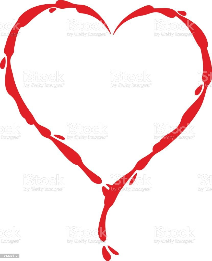 Bleeding Heart royalty-free bleeding heart stock vector art & more images of clip art