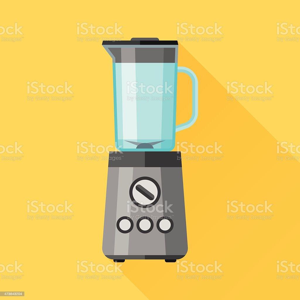 Blender flat icon vector art illustration