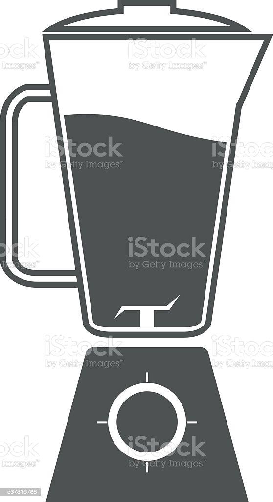 blender icon vector art illustration