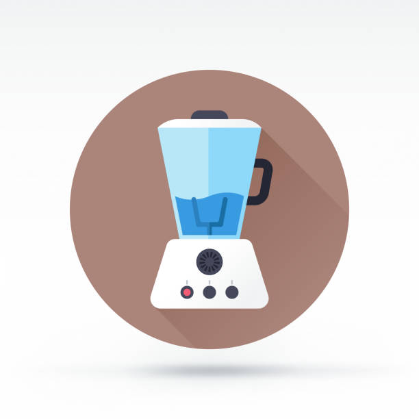 mixer-symbol - küchenmixer stock-grafiken, -clipart, -cartoons und -symbole