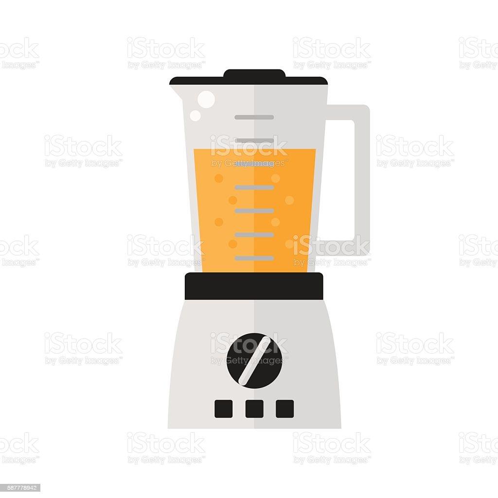 Blender isolated icon on white background. vector art illustration