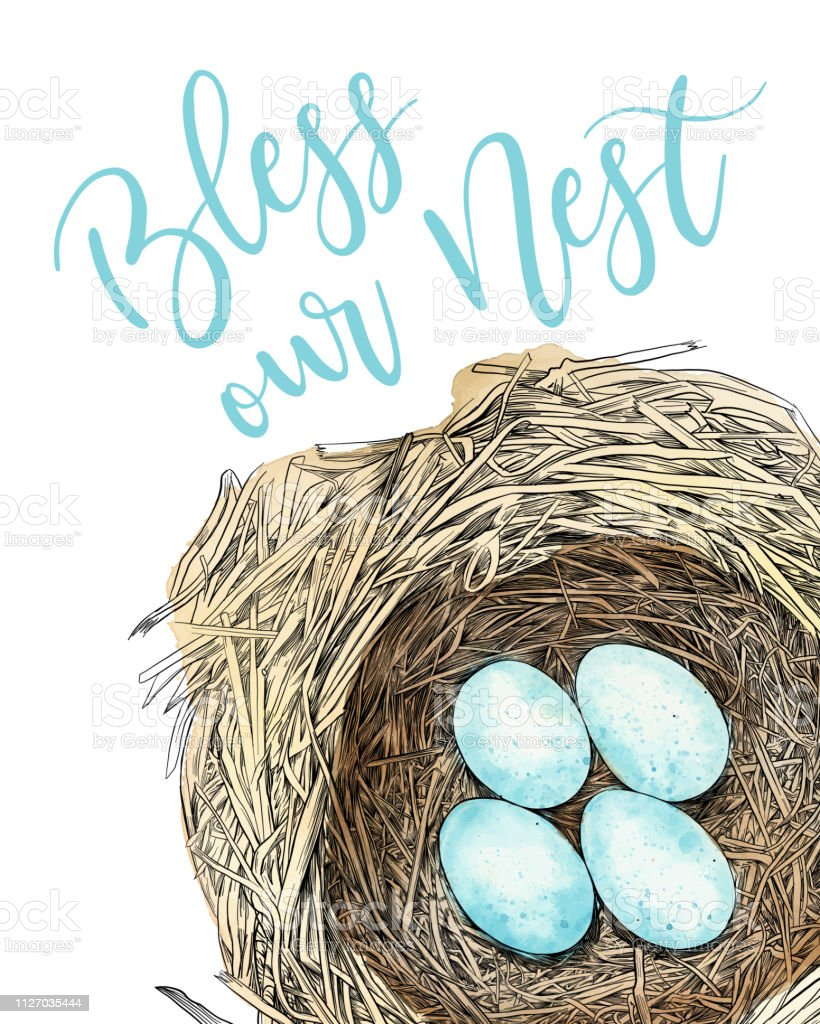 25+ Bless Our Nest Branches Cut File Design