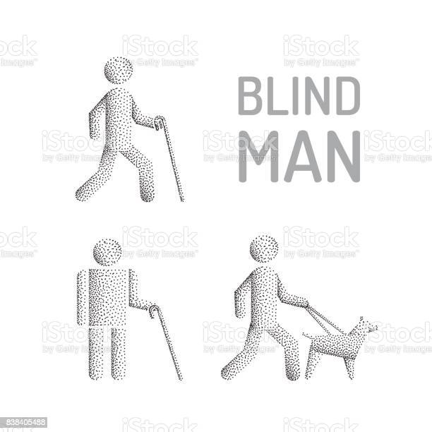 Blind man and seeing eye dog vector id838405488?b=1&k=6&m=838405488&s=612x612&h=zputnjpmb1lruodrcsupwewnugrinevwttz0 w  mwq=
