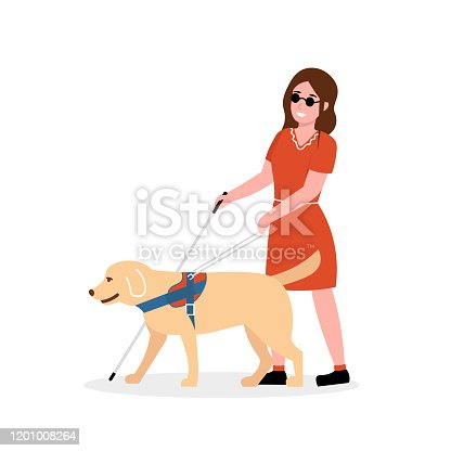 istock blind woman with a dog 1201008264