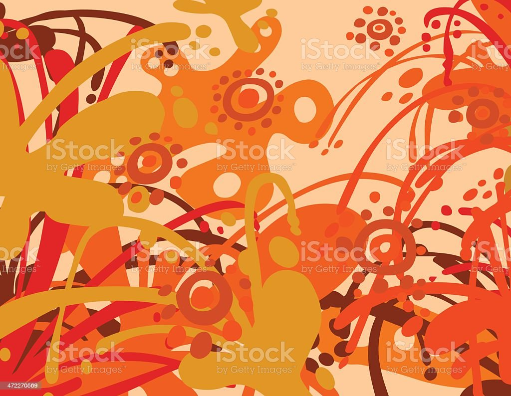 Blissful Heat royalty-free stock vector art