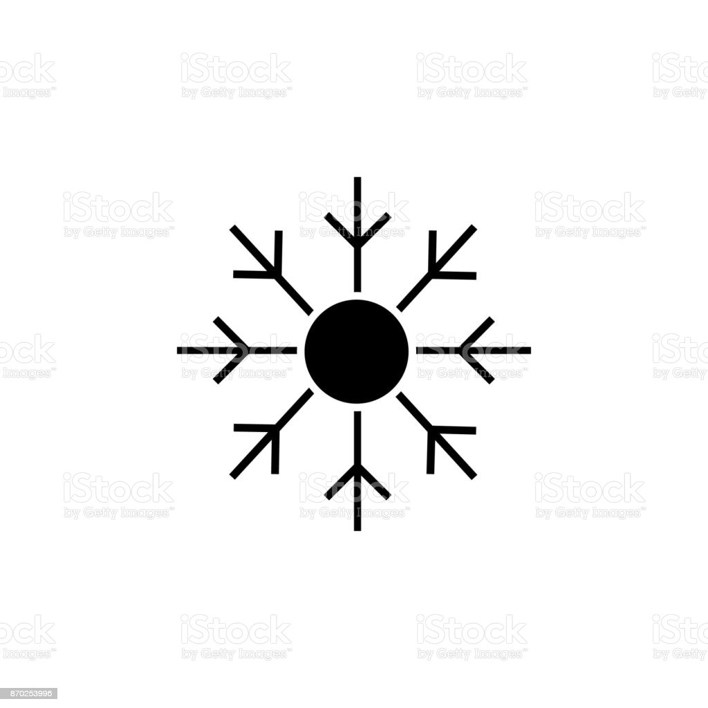 blizzard icon vector art illustration